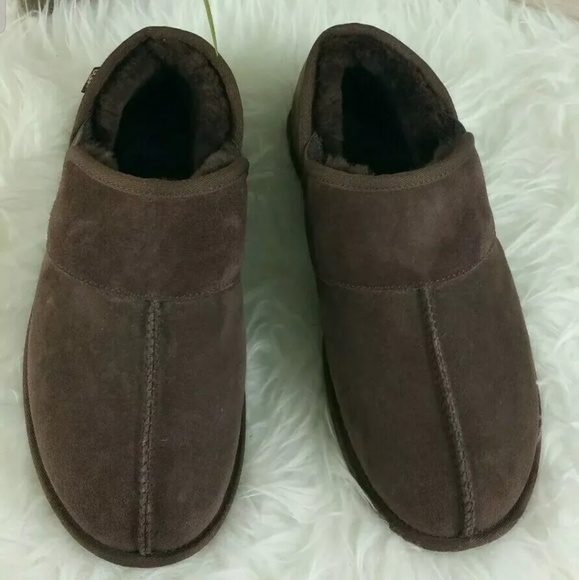 UGG Other - UGG Brown Suede Slippers Shoes Men's Sz10